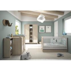 Lit bébé 70 x 140 cm Evan,Lit Bébé, Chambre d'enfant,1 sommier