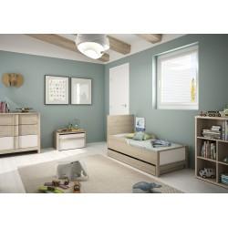 Option tiroir 140 cm Evan,Accessoires, Chambre d'enfant,Pour