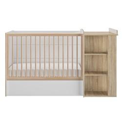 Kinderbett Verstellbar 60 x 120 cm Intimi  - 3