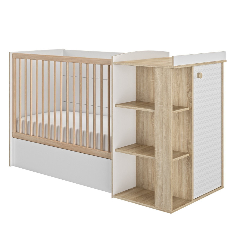Kinderbett Verstellbar 60 x 120 cm Intimi  - 4