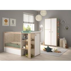 Kinderbett Verstellbar 60 x 120 cm Intimi  - 7