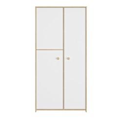 Armoire 2 portes Intimi,Armoire, Chambre d'enfant,½ penderie (2