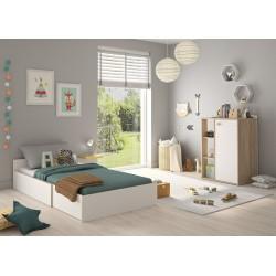 Kinderbett Verstellbar 60 x 120 cm Intimi  - 8