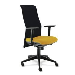 Siège opérateur TRENDY,Chaise, Bureau,Dimensions Assise: L.45 x