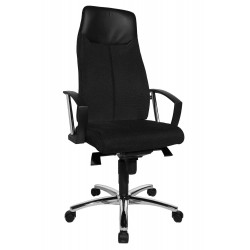 Fauteuil manager ONE,Chaise, Bureau,Dimensions Assise: L.48 x