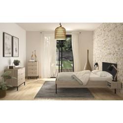 Lit Castel,Cadre de lit, Chambre à coucher,Lit Castel avec