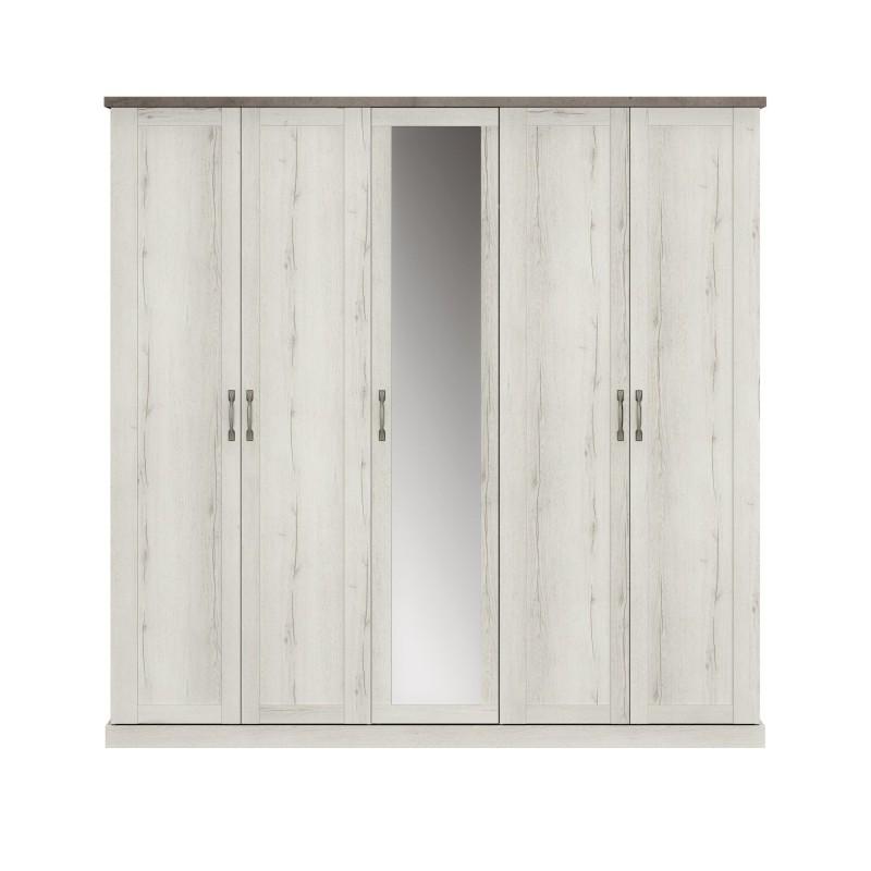 Armoire CHAMONIX 5 portes  - 1