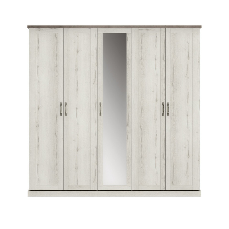Kleiderschrank CHAMONIX 5 Türen  - 1