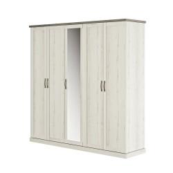 Kleiderschrank CHAMONIX 5 Türen  - 3