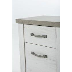 Chevet CHAMONIX 1 tiroir 1 porte,Commode, Chambre à