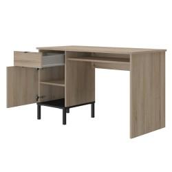 Bureau Castel,Bureau, Accueil,Bureau avec 1 tiroir et 1 porte.