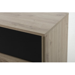 Chiffonnier ARTHUS 4 tiroirs,Commode, Chambre de Jeune