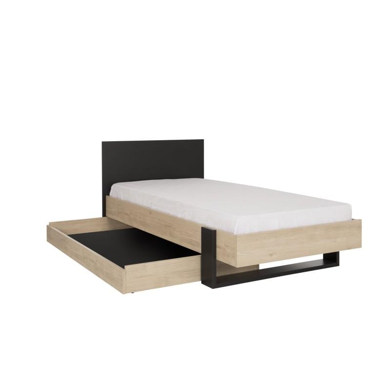 Option tiroir de rangement DUPLEX,Cadre de Lit, Chambre de
