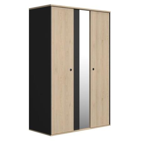 Armoire DUPLEX 2 portes 1 miroir Armoire
