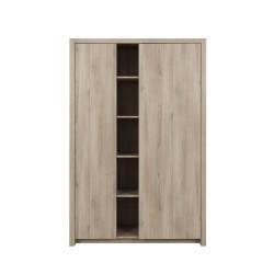 Armoire ETHAN 2 portes  - 5