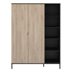 Armoire CASTEL 2 portes,Armoire, Chambre à coucher,Armoire 2