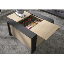 Table basse AURORA,Table Basse, Salon,Grande table basse coffre