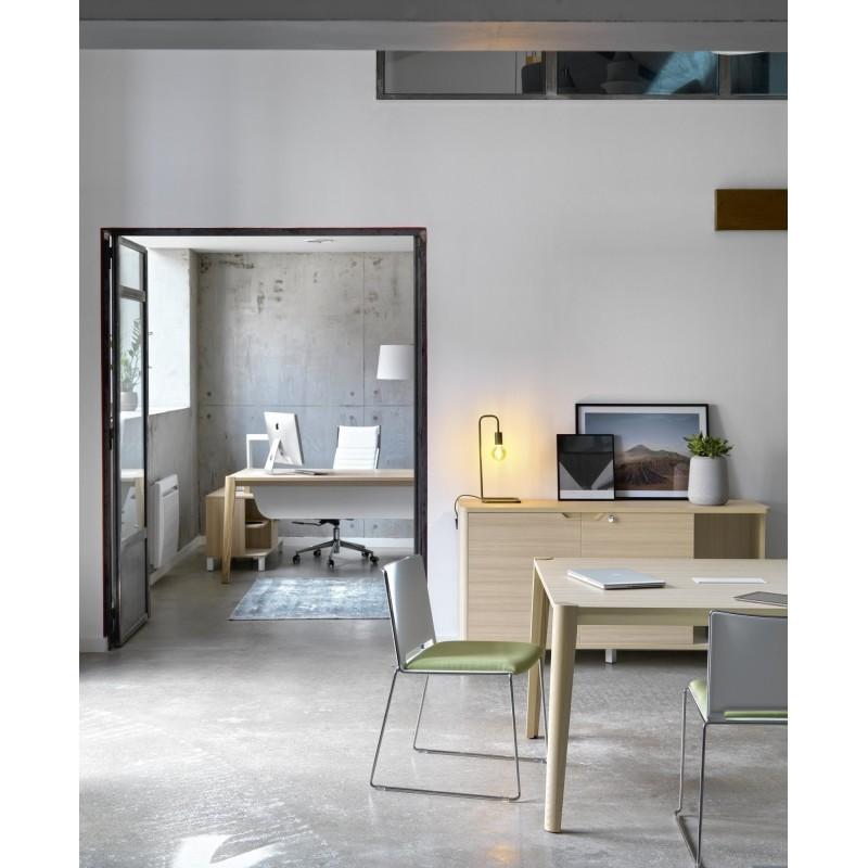 Table de travail ABSOLU,Tables Bureau, Bureau,Pré-défonçage du