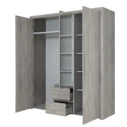 Schrank Abby 3 Türen  - 4