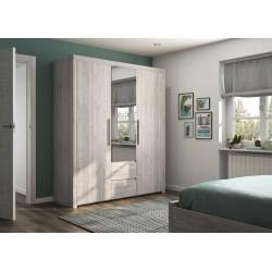 Armoire Abby 3 portes,Armoire, Chambre à coucher,Armoire 3