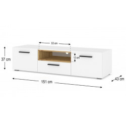 Banc TV Anette 151Cm  - 4