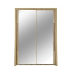 Armoire CYRUS 2 portes coulissantes,Armoire, Chambre à coucher