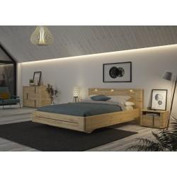 Lit confidence,Cadre de lit, Chambre à coucher,Eclairage 3