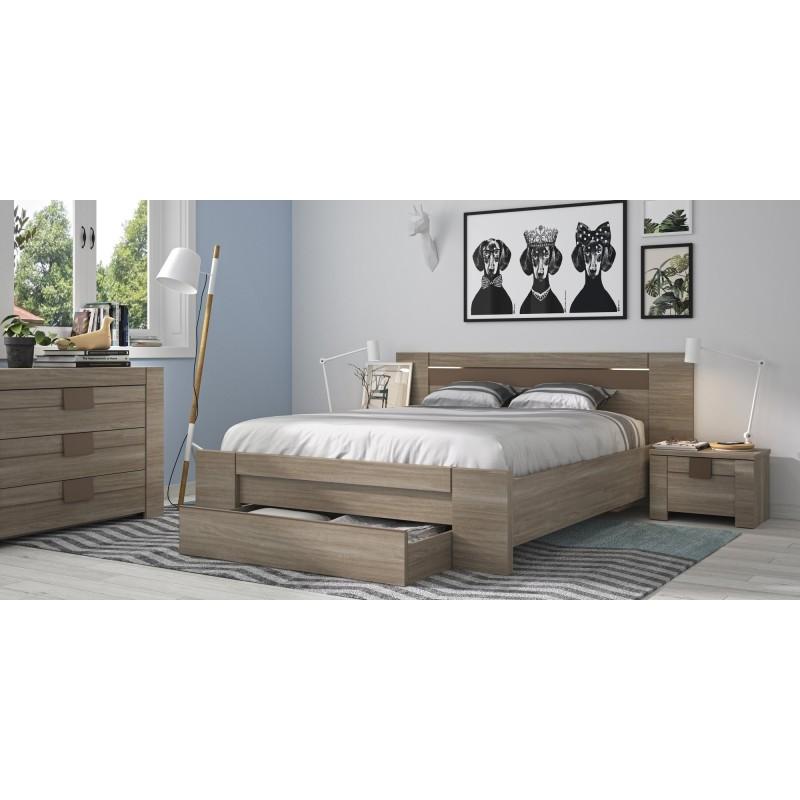 Commode Moka 3 tiroirs,Commode, Chambre à coucher,Commode de