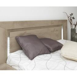 Lit Sarlat,Cadre de lit, Chambre à coucher,Éclairage dans la