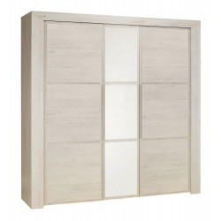 Armoire Sarlat 3 portes,Armoire, Chambre à coucher,Armoire avec