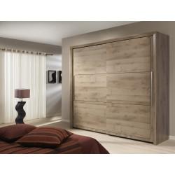 Sarlat Kleiderschrank 2 Holztüren Schränke