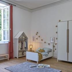 Option lit 2 pans 140 cm Celeste,Accessoires, Chambre